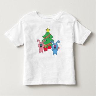 T-shirt d'enfant en bas âge de jour de Noël de