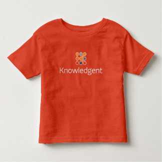 T-shirt d'enfant en bas âge de Knowledgent