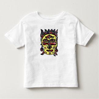 """T-shirt d'enfant en bas âge """"de masque primitif"""""""