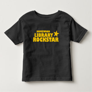 T-shirt d'enfant en bas âge de Rockstar de