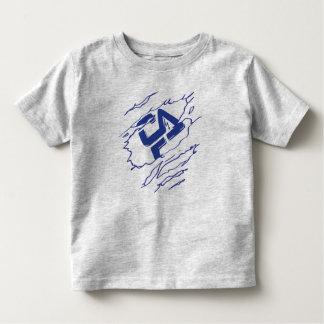 T-shirt d'enfant en bas âge de superhéros de CFHV