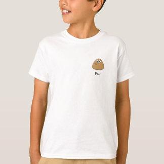 T-shirt d'enfants avec l'icône de Pou