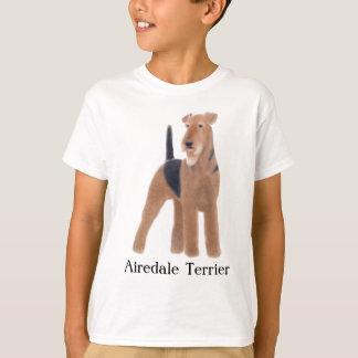 T-shirt d'enfants d'Airedale Terrier