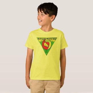 T-shirt d'enfants d'arts martiaux de DeAngelis