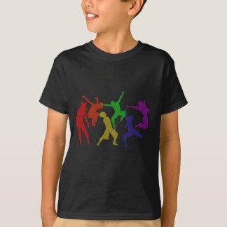 T-shirt d'enfants de danseurs