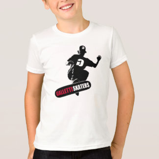 T-SHIRT D'ENFANTS DE PATINEURS DE GALLETTI