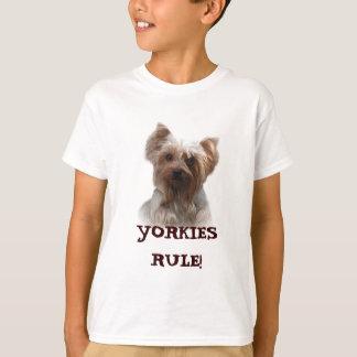 T-shirt d'enfants de Yorkshire Terrier