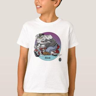 T-shirt d'enfants - luisant, cyclistes sont le ©