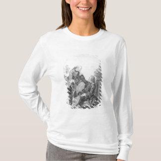 T-shirt Denis Diderot et Melchior, baron de Grimm