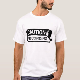 T-shirt d'enregistrement