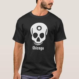 T-shirt dent blanche de crâne