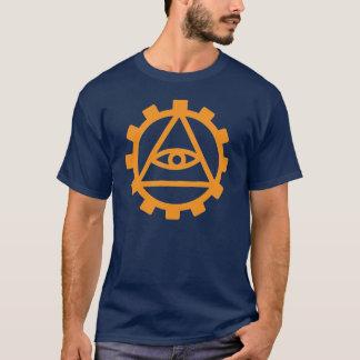T-shirt Dent orange