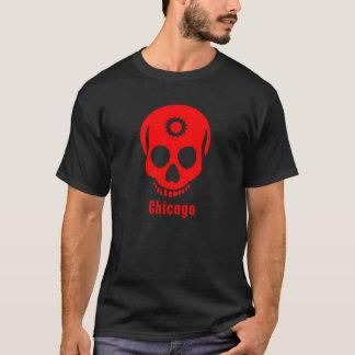 T-shirt dent rouge de crâne
