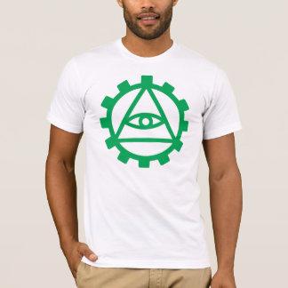 T-shirt Dent verte