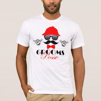 T-shirt d'enterrement de vie de jeune garçon -