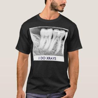 T-shirt Dentiste, chemise de rayon X
