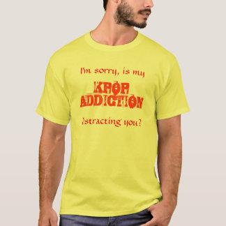T-shirt Dépendance de Kpop (mâle)