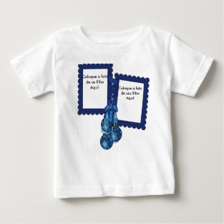 T-shirt Dépérisse Jersey pour Bébé «Boules de Noë