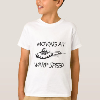 T-shirt Déplacement à la vitesse de chaîne