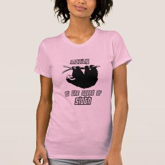 T-shirt Déplacement à la vitesse de la paresse