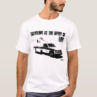 T-shirt Déplacement à la vitesse de la VIE