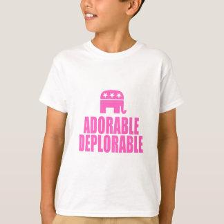 T-shirt Déplorable adorable