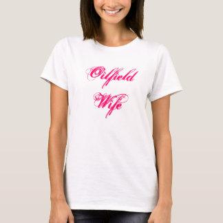 T-shirt d'épouse de gisement de pétrole