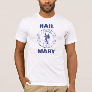 T-shirt d'équipage de Mary de grêle
