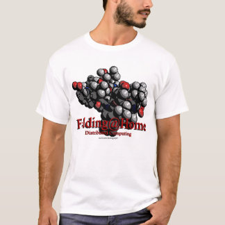 T-shirt d'équipe de Folding@Home