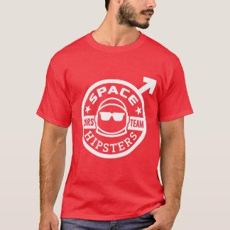 T-shirt d'équipe de Hipsters® Mars de l'espace
