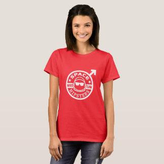 T-shirt d'équipe de Hipsters® Mars de l'espace des
