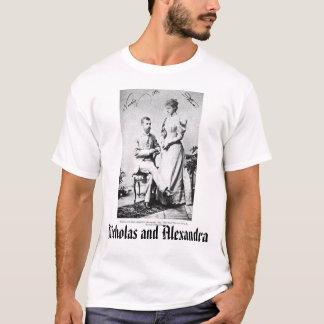 T-shirt Dernier tsar et tsarine, Nicholas et Alexandra