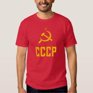 T-shirt des années 80 d'Union Soviétique de CCCP