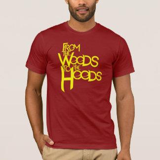 T-shirt Des bois à la pièce en t de capots : Canneberge