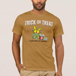T-shirt Des bonbons ou un sort (argent liquide également