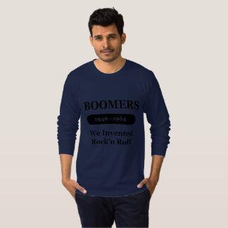 T-shirt Des boomers nous avons inventé chemise de douille
