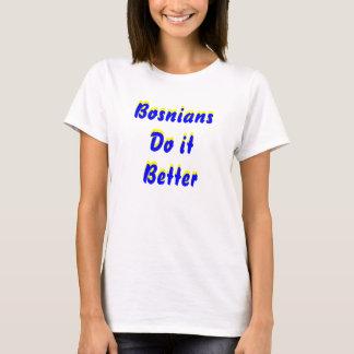 T-shirt Des Bosniens il améliorent,
