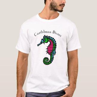 T-shirt des Caraïbes de piqué d'hippocampe
