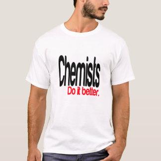 T-shirt Des chimistes il améliorent