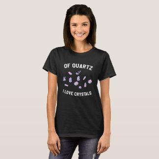 T-shirt Des cristaux d'amour du quartz I