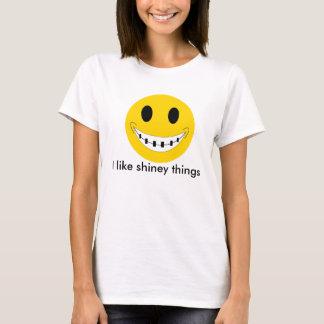 T-shirt des croisillons, j'aime des choses brillantes