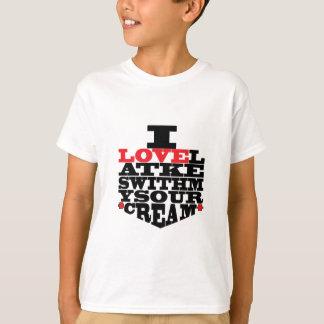 """T-shirt Des enfants de tee - shirt de Hanoukka """"j'aime des"""