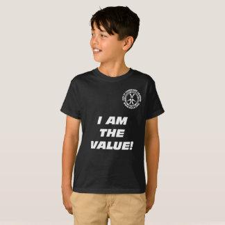 """T-shirt Des enfants """"je suis la valeur ! Vous êtes la"""