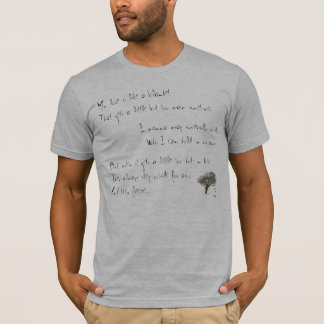 T-shirt Des excuses gelées
