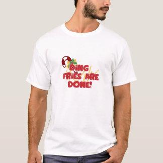 T-shirt Des fritures de tintement sont faites
