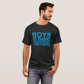 T-shirt Des garçons aucuns mercis, je préfère jusqu'à