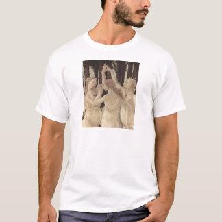 T-shirt des grâces de Botticelli trois