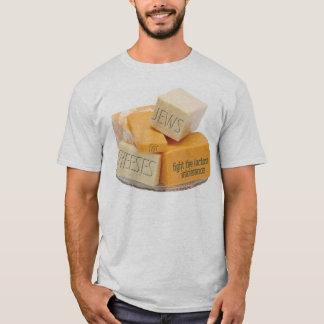 T-shirt Des juifs pour des fromages - combattez