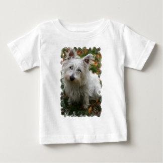 T-shirt des montagnes occidental de bébé de