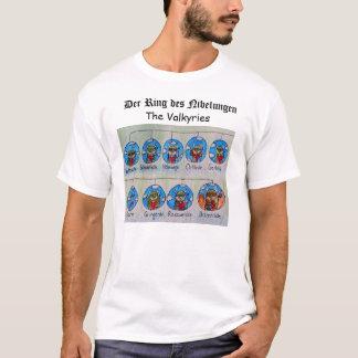 T-shirt DES Nibelungen d'anneau de Der : Le Valkyries